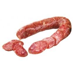 Рецепт Домашняя сырокопченая колбаса