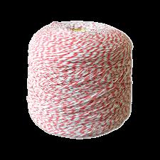 Шпагат для колбас хб бело-красный Бухта 2,5 кг